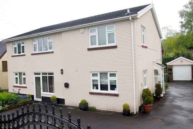 Thumbnail Detached house for sale in Springfield Church Road, Llanedi, Swansea
