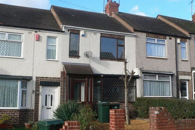Thumbnail Terraced house to rent in Lord Lytton Avenue, Poets Corner, Coventry, West Midlands