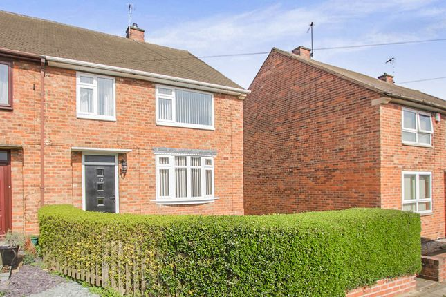 Thumbnail Semi-detached house for sale in Amhurst Close, Leicester