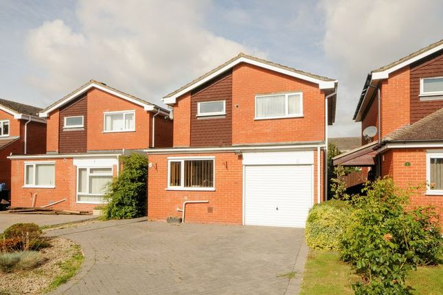Thumbnail Detached house for sale in Barbury Drive, Grove, Wantage