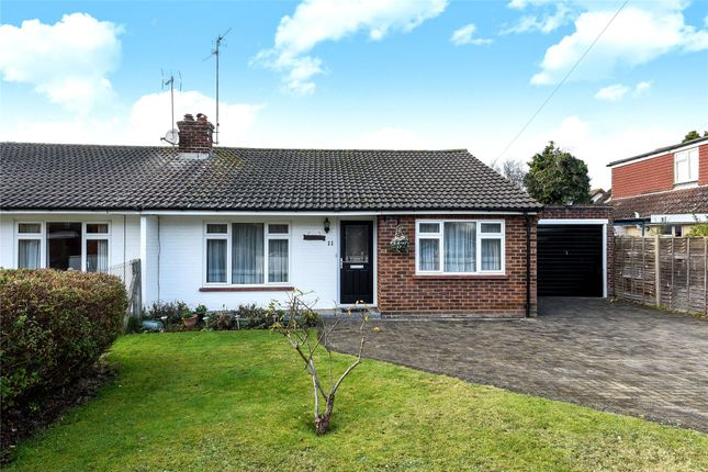Thumbnail Semi-detached bungalow for sale in Brookside, Sandhurst, Berkshire