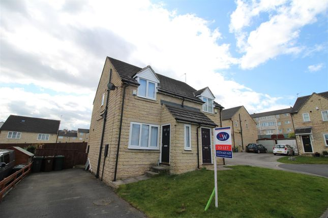 Thumbnail Semi-detached house to rent in Applehaigh Close, Bradford