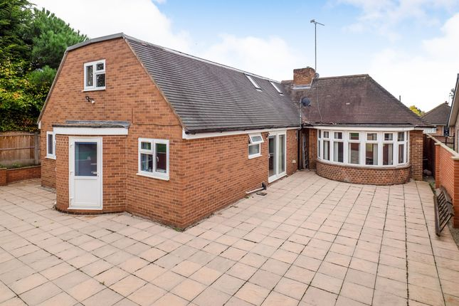 Thumbnail Detached bungalow for sale in Trentham Drive, Nottingham