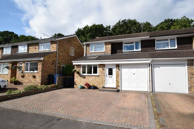 Thumbnail Semi-detached house for sale in Baileys Close, Blackwater, Camberley