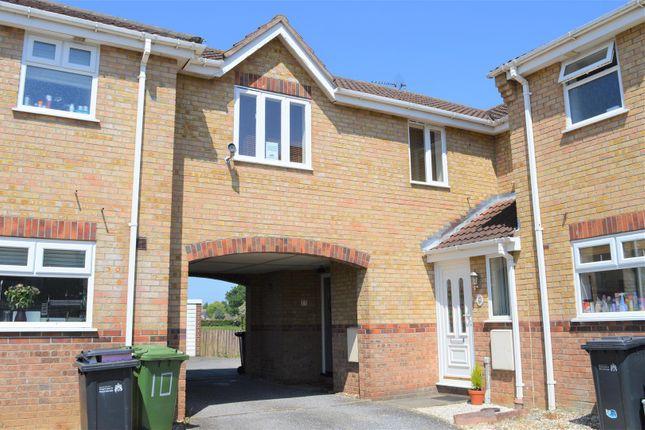 Thumbnail End terrace house for sale in Stallett Way, Tilney St. Lawrence, King's Lynn