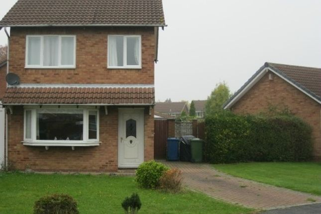 Thumbnail Detached house to rent in Cringlebrook, Tamworth
