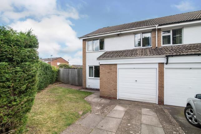 Thumbnail End terrace house for sale in Ashcott Close, Kings Norton, Birmingham, West Midlands