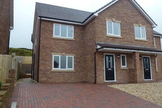 Thumbnail Semi-detached house to rent in Clos Cribyn, Beacon Heights, Merthyr Tydfil