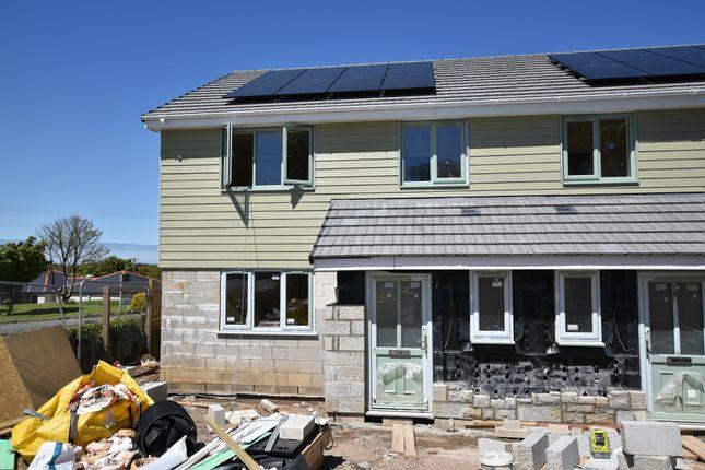 Thumbnail Semi-detached house for sale in Tolgus Mount, Tolgus, Redruth, Cornwall