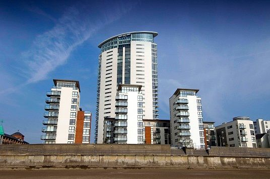 Thumbnail Property to rent in Meridian Bay, Trawler Road, Swansea.