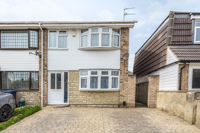 Thumbnail End terrace house to rent in Giles Road, East Oxford