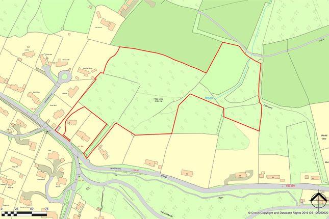 Land Plan of Petworth Road, Haslemere GU27