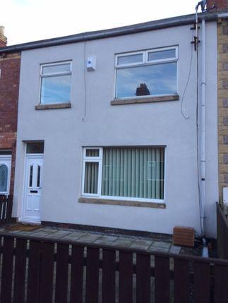 Thumbnail Terraced house to rent in Rosalind Street, Ashington