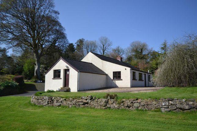 Thumbnail Detached bungalow for sale in Treffgarne, Haverfordwest