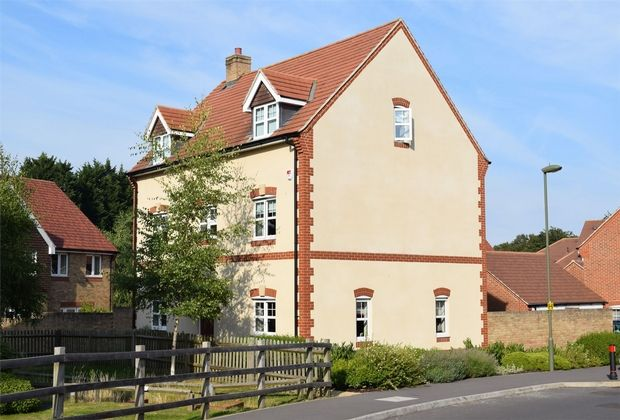 Thumbnail Detached house for sale in Waterers Way, Bagshot, Surrey