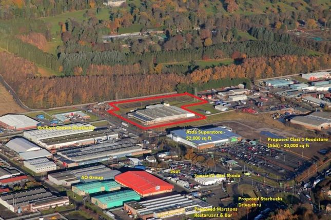 Thumbnail Land for sale in Birkhill Factory, Myrekirk Road, Wester Gourdie Industrial Estate, Dundee