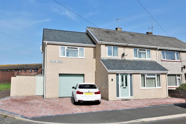 Thumbnail Semi-detached house for sale in Rother Green, Walney Island, Barrow In Furness