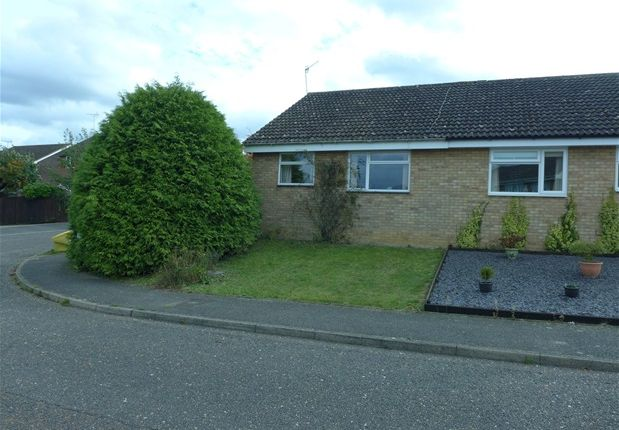 Semi-detached bungalow for sale in Scarlin Road, Bury St. Edmunds