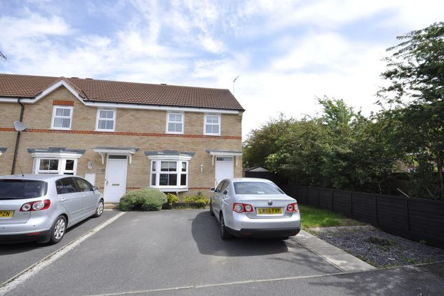 Thumbnail End terrace house to rent in Avalon Drive, Chellaston, Derby