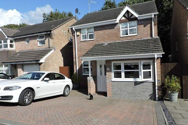 Thumbnail Detached house for sale in Elm Crescent, Penllergaer, Swansea
