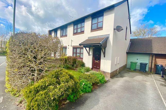 Thumbnail Semi-detached house for sale in Hughes Avenue, Barnstaple