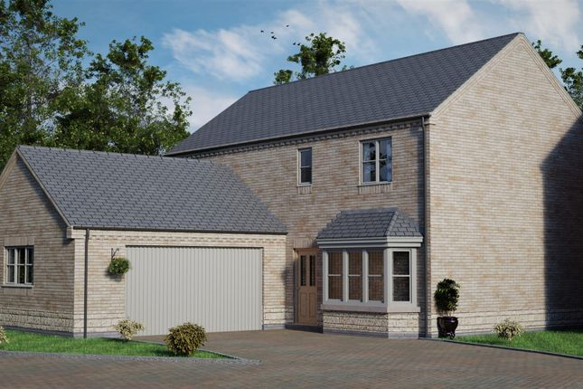 Thumbnail 4 bed detached house for sale in Plot 24 Saint Germaine Way, Scothern, Lincoln