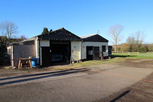 Garage/Workshop of High Lane Central, West Hallam, Ilkeston DE7