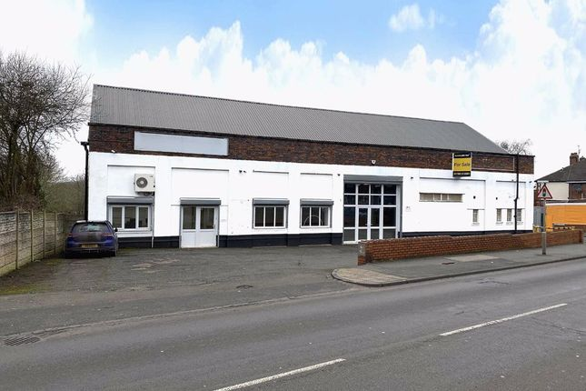 Thumbnail Light industrial for sale in Liverpool Road, Newcastle-Under-Lyme, Staffordshire