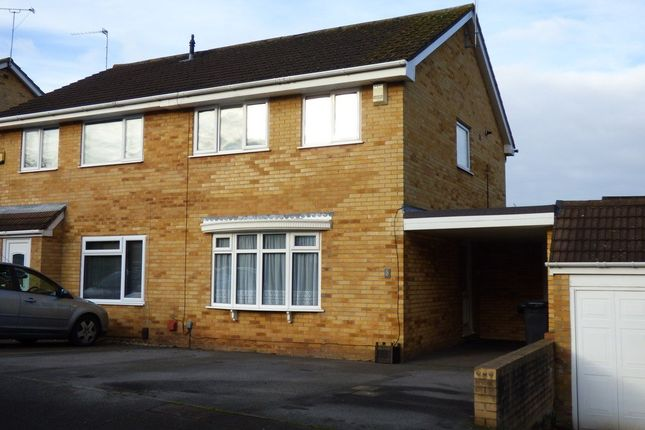 Thumbnail Semi-detached house for sale in Fallowfield, Warmley, Bristol
