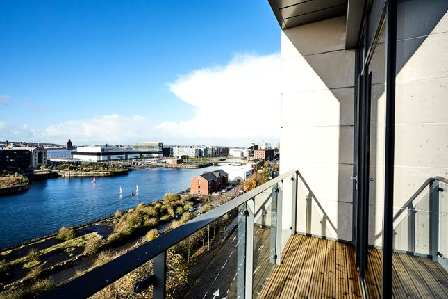 Thumbnail Flat to rent in Plaza Boulevard, Liverpool
