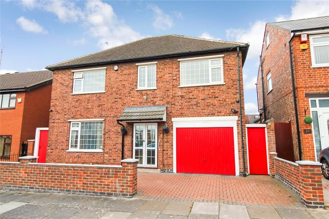 Thumbnail Detached house for sale in Naseby Road, Rushey Mead / Gipsy Lane, Leicester