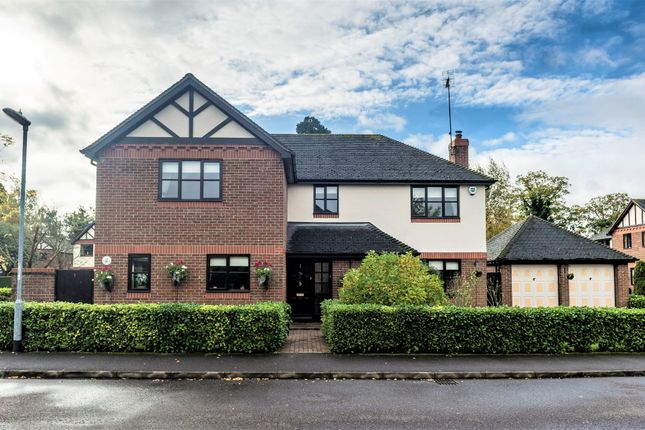 Thumbnail Detached house for sale in Purbeck Close, Woodcote Park, Wisbech, Cambridgeshire
