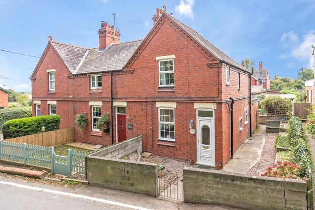 Thumbnail End terrace house for sale in Marton Road, Baschurch, Shrewsbury