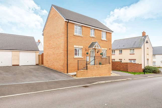 Thumbnail Detached house for sale in Trem Y Rhedyn, Coity, Bridgend