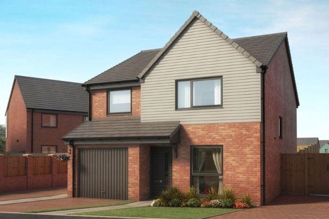 Thumbnail Detached house for sale in Bucknall Grange Eaves Lane, Bucknall, Stoke-On-Trent