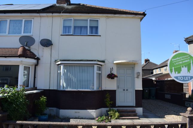 Semi-detached house to rent in Drift Avenue, Stamford