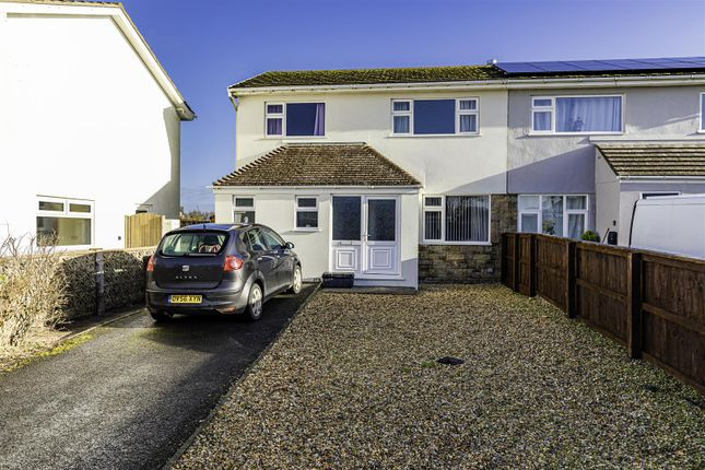 Thumbnail Semi-detached house for sale in 16 St. Brides View, Roch