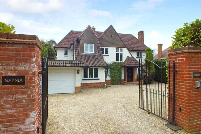 Thumbnail Detached house for sale in Park Avenue, Camberley, Surrey