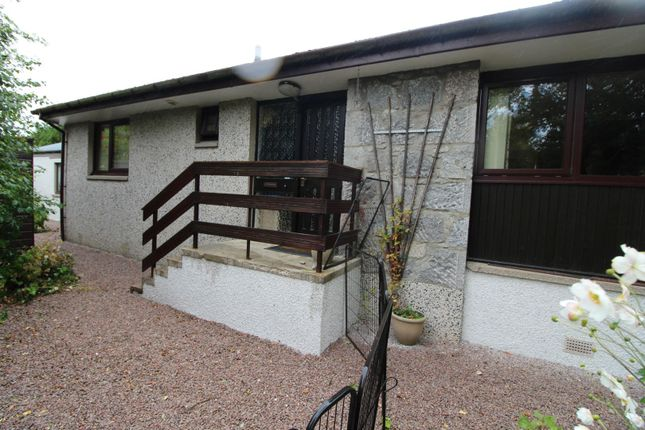 Thumbnail Detached bungalow for sale in Pitcaple, Inverurie