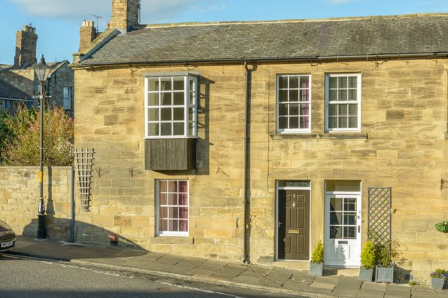 Thumbnail End terrace house for sale in Castle Terrace, Warkworth, Northumberland