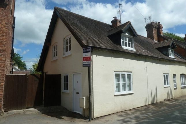 Thumbnail End terrace house to rent in 5 Church Road, Condover, Shrewsbury