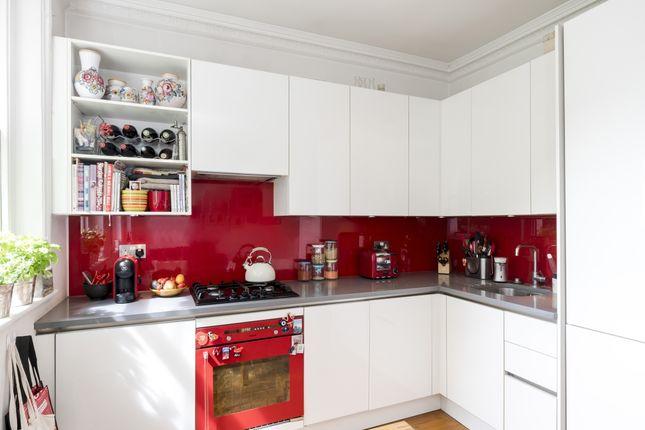 Kitchen of Kensington Gardens Square, London W2
