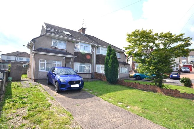 Thumbnail Semi-detached house for sale in Ravenscourt Close, Penylan, Cardiff