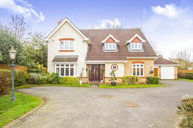 Thumbnail Detached house for sale in Quickthorns, Oadby, Leicester, Leicestershire