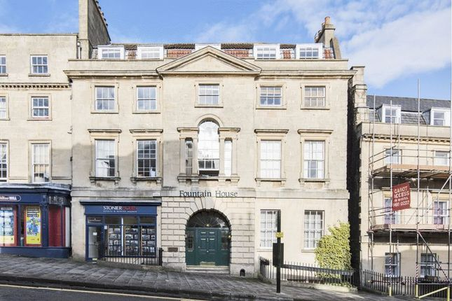 Thumbnail Flat to rent in Fountain Buildings, Bath
