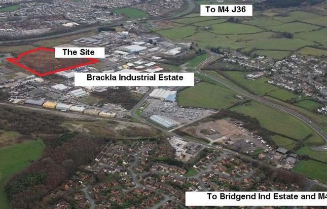 Thumbnail Land for sale in Mixed Use Development Land, Brackla West, Brackla Industrial Estate, Bridgend