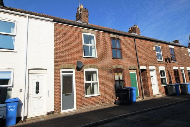 Thumbnail Terraced house to rent in Malvern Road, Norwich