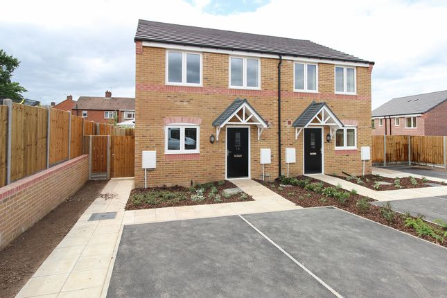 Thumbnail Semi-detached house for sale in Carlyle Road, Stonebroom, Alfreton