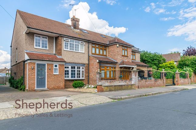 Thumbnail Semi-detached house to rent in Penton Drive, Waltham Cross, Hertfordshire