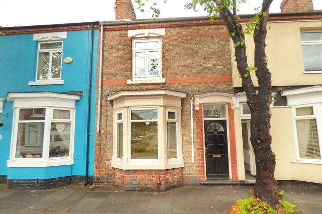Thumbnail Terraced house for sale in Buckingham Road, Stockton-On-Tees